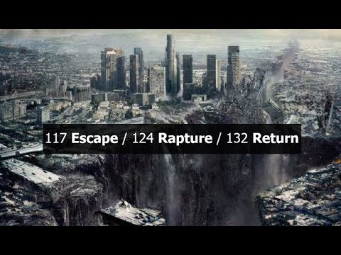 117 Escape / 124 Rapture / 132 Return