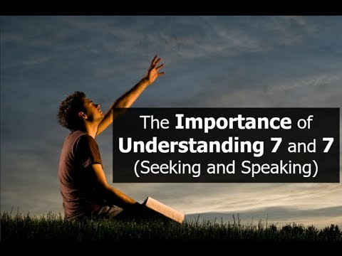 he Importance of Understanding 7 and 7