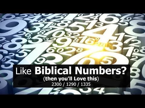 Like Biblical NUMBERS? (then you'll LOVE this)