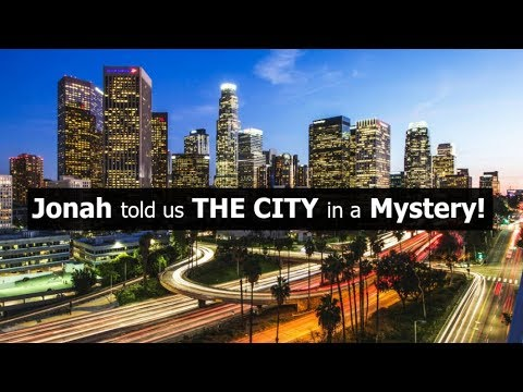 Jonah told us The CITY in a Mystery!