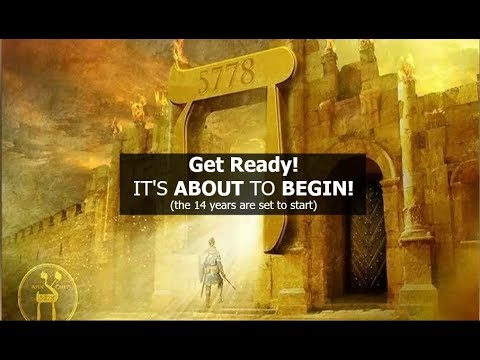 Get Ready! IT'S ABOUT TO BEGIN! (the 14 years are set to start)