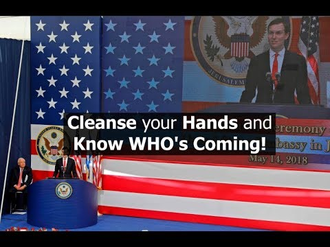 Cleanse your Hands and Know WHO'S Coming!