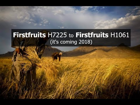 Firstfruits H7225 to Firstfruits H1061 (it's coming 2018)