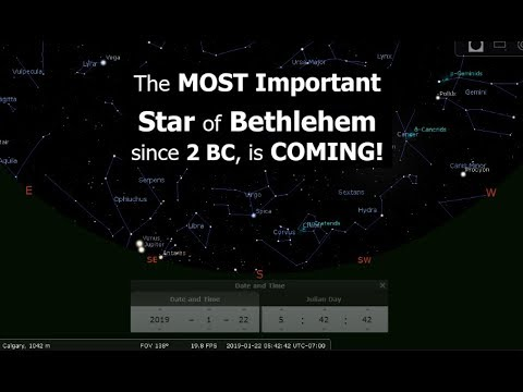 The MOST Important Star of Bethlehem since 2 BC, is COMING!