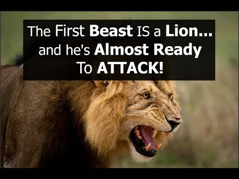 The first Beast IS a Lion...and he's Almost Ready