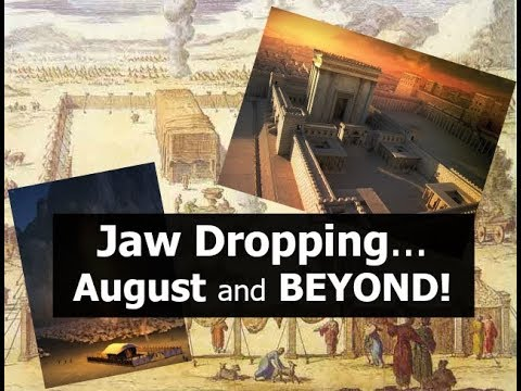 Jaw Dropping...August and BEYOND!!!
