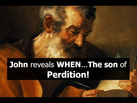 John reveals WHEN...The son of Perdition!