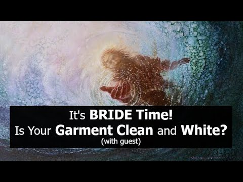 It's BRIDE Time! Is Your Garment Clean and White? (with guest)