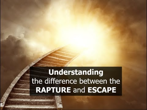 Understanding the difference between the RAPTURE and ESCAPE