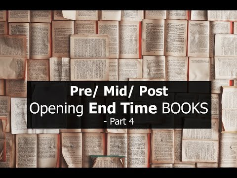 Pre / Mid / Post, Opening End Time BOOKS